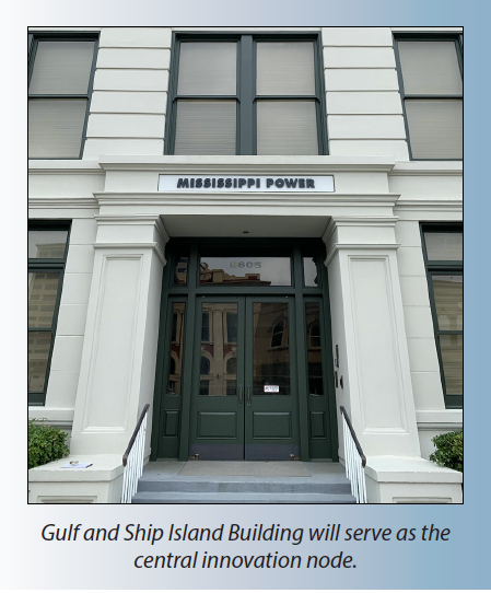 Gulf Island RR Building